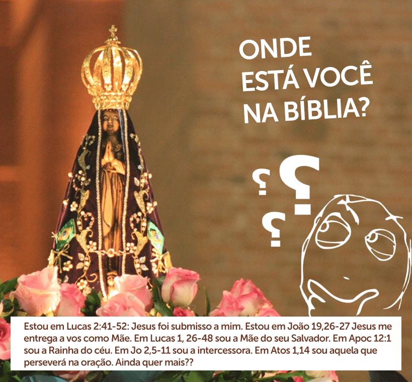 Por que não devemos venerar Maria?