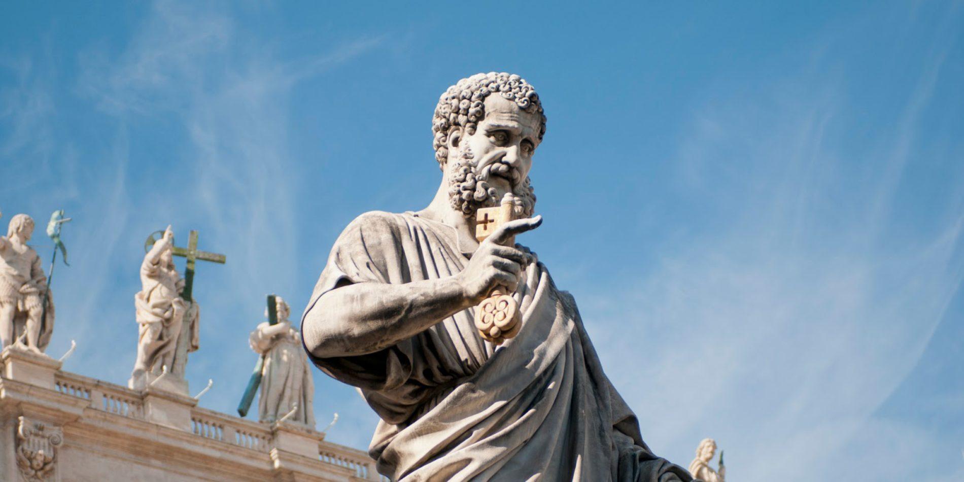"""Pedro é a """"pedra"""" em Mateus 16:18?"""