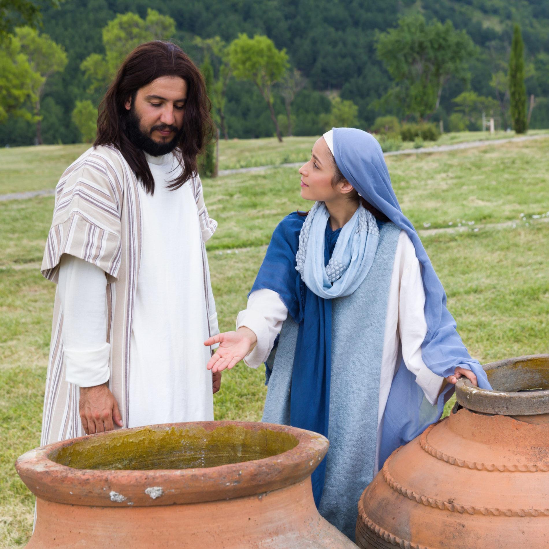 O vinho do casamento em Caná