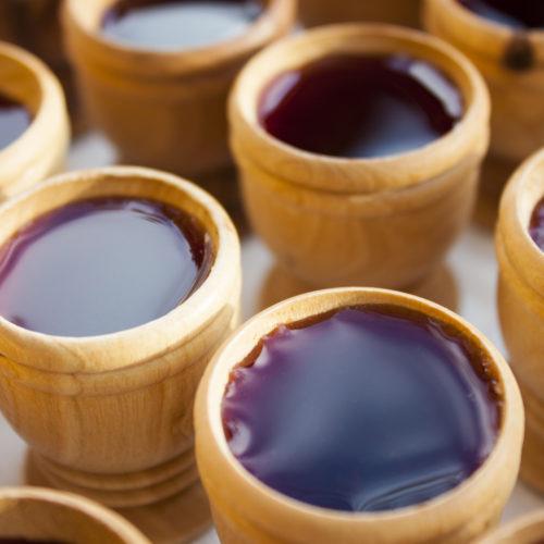 Que tipo de vinho foi usado na santa ceia?