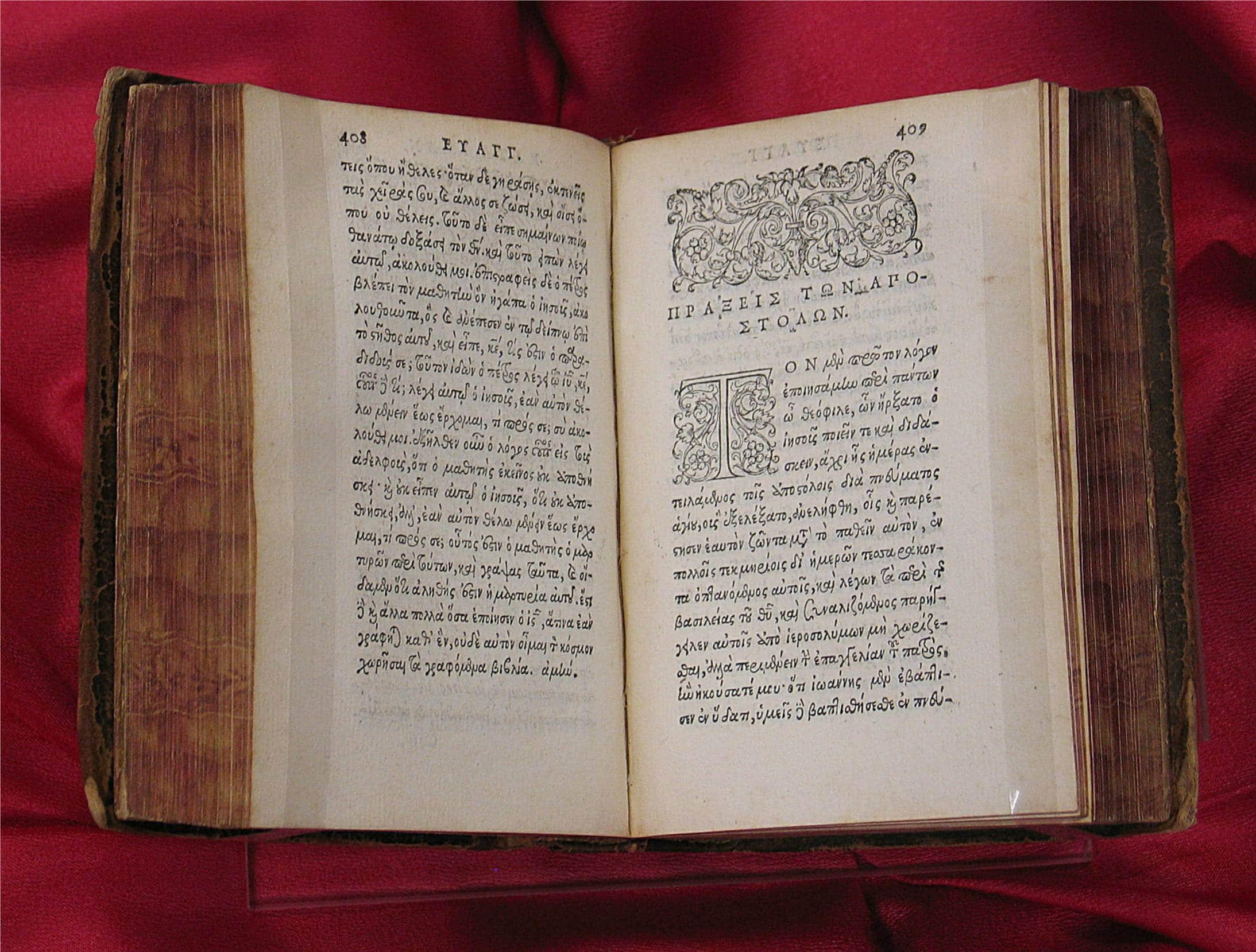 """O """"textus receptus"""" e as traduções modernas da Bíblia"""