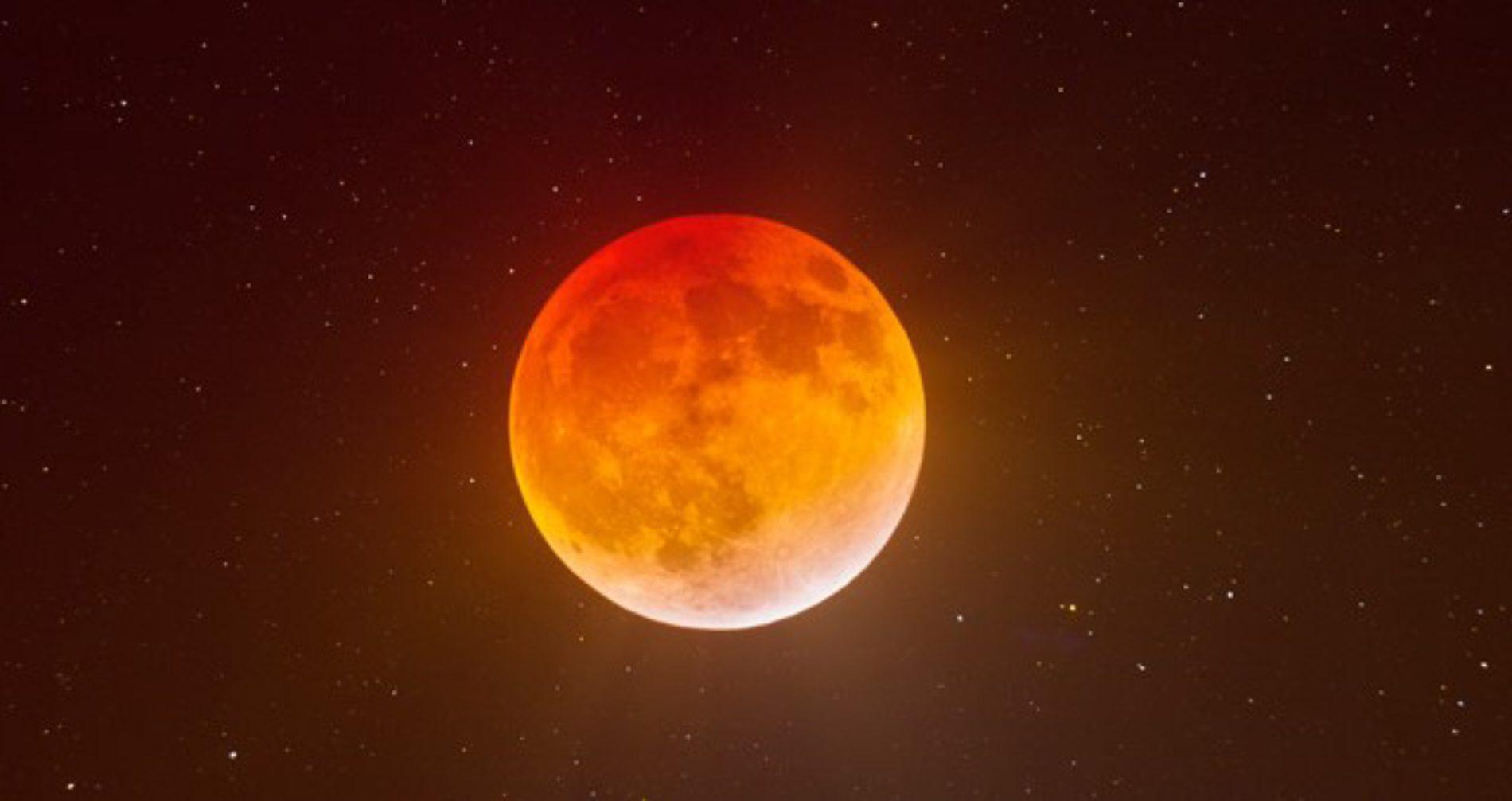 Lua de Sangue, mais um eclipse de Lua