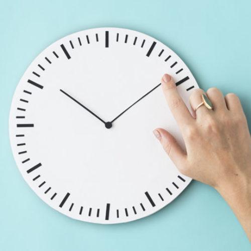 Seja sábio para administrar o seu tempo