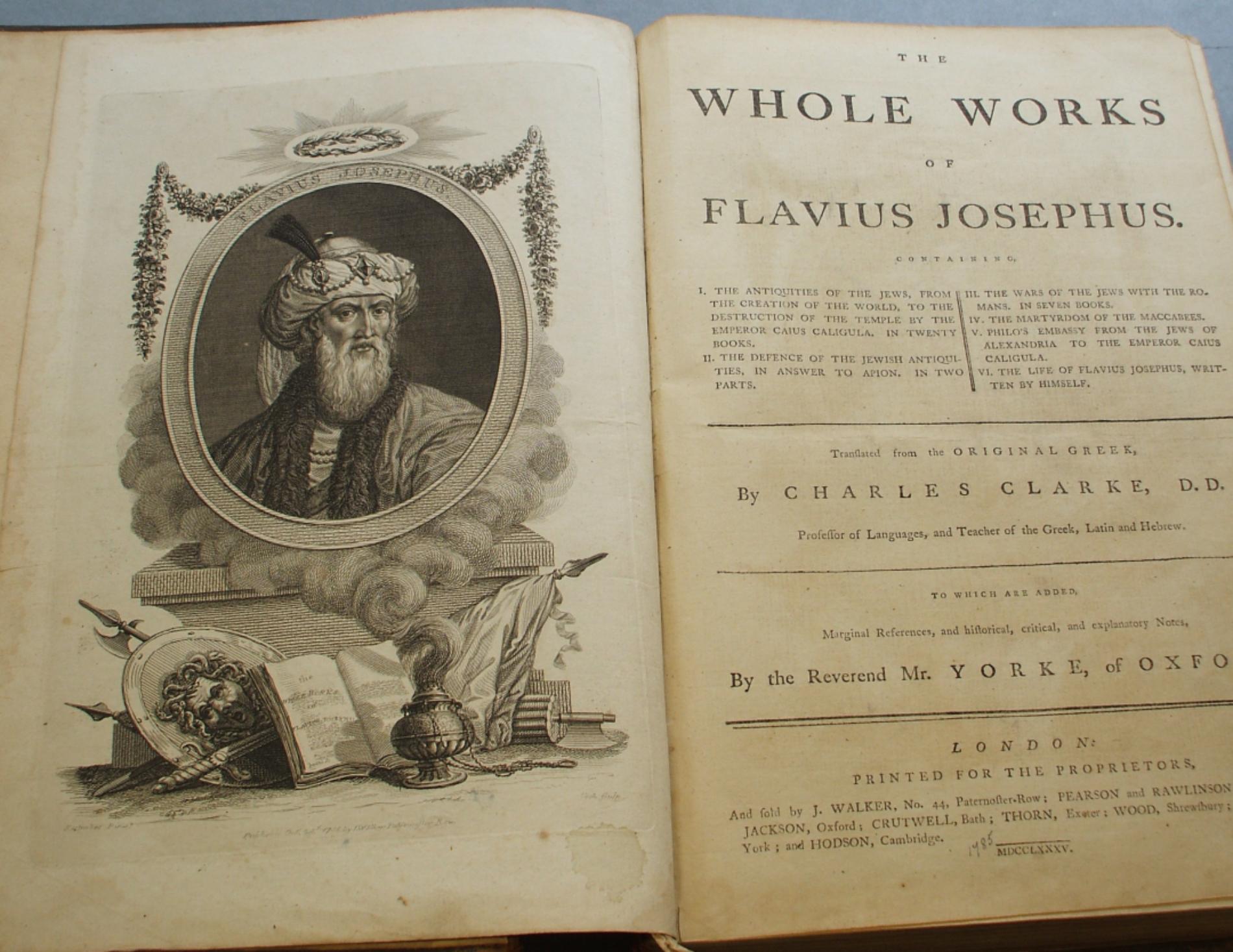 Flávio Josefo e a Morte de Moisés