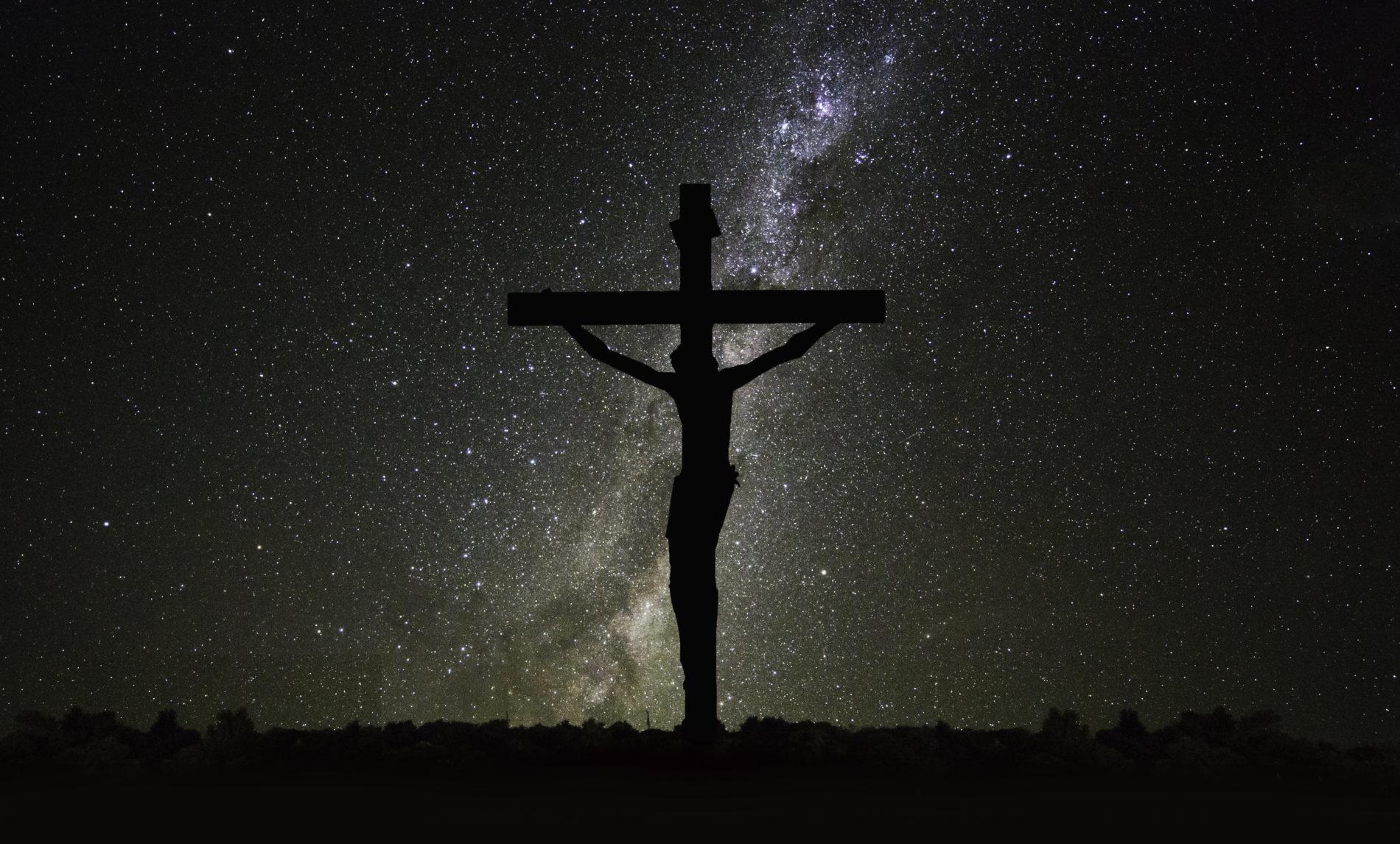 Quem morreu na cruz?
