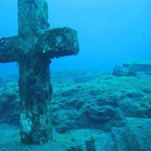 Almas dos Mortos Tremendo Debaixo das Águas?
