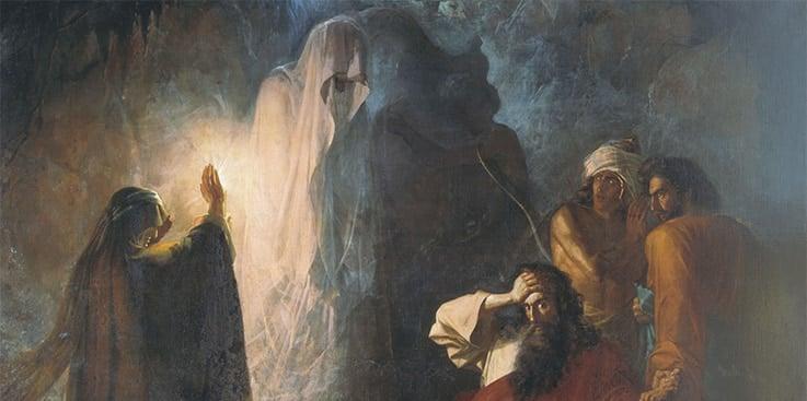 Saul e a Pitonisa de En-dor