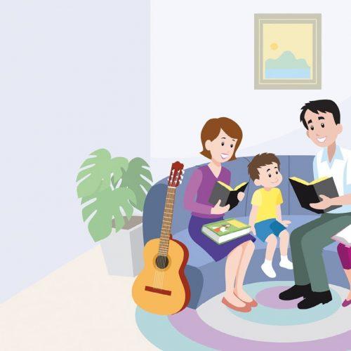 Como organizar o culto familiar